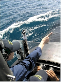 USS Texas submarine Capt. Litherland Cdr Gray Galveston