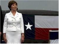Laura Bush sponsors USS Texas sub in Galveston