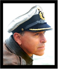 Bram Zeegers als 'sim kapitein'