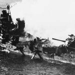 Battle of Midway radio man