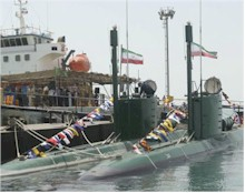 Iranian submarines, who are they kidding?