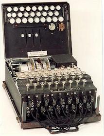 Enigma code simulator