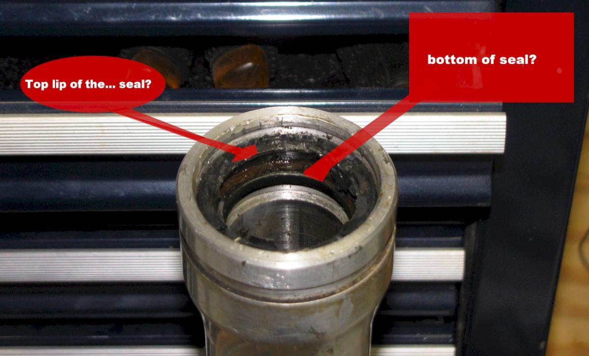 Sundial Moto Sports • View topic - GT380: replacing fork seals