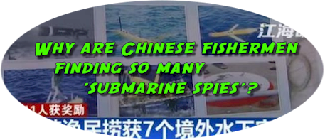 Chinese fishermen using correct bait for sub-drones.