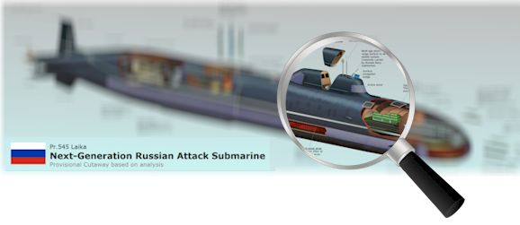 Inside Russia's Laika Next Generation Attack Submarine