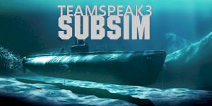 Log in to Subsim Teamspeak, now online