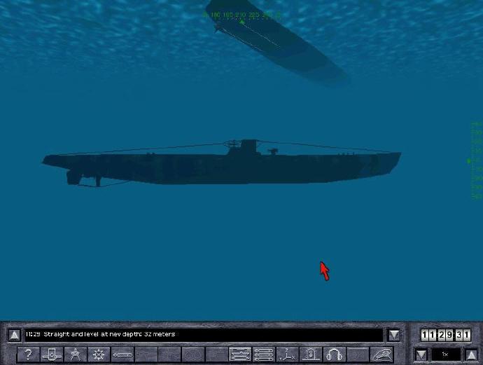 silent runner submarine game