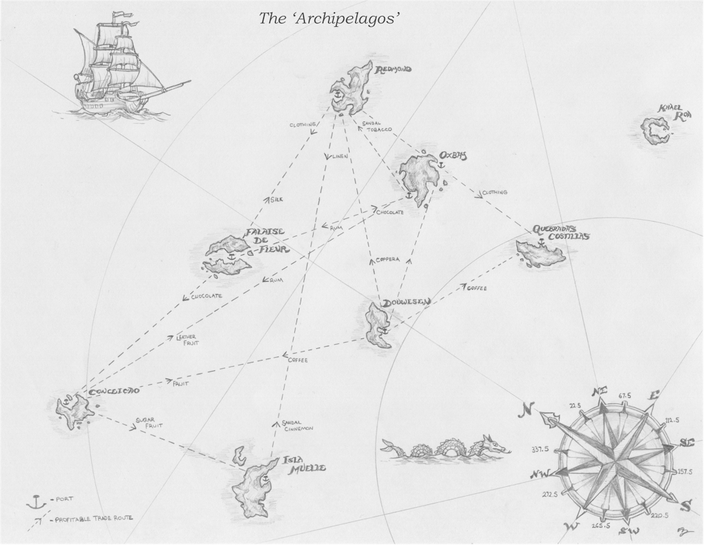 Две карты для игры Корсары II пираты карибского моря. 2) Карта