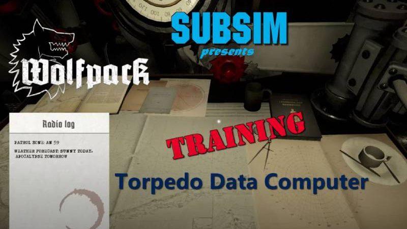 Wolfpack Torpedo Training: Easy as 1, 2, 3 !