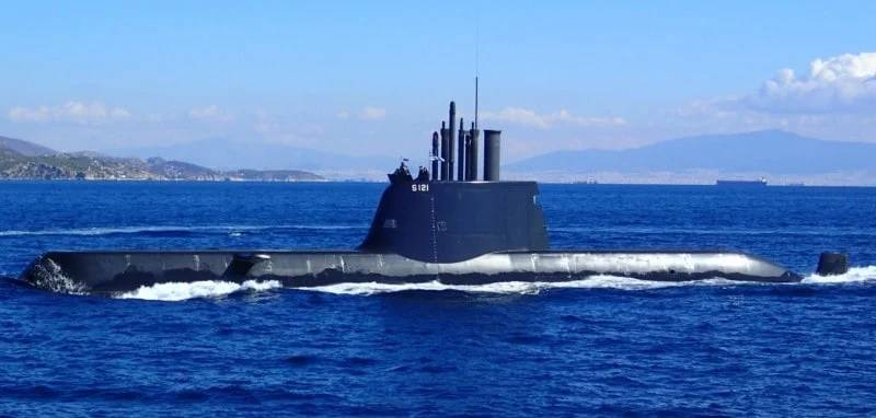 These Are The Four Greek Submarines That Turkey Fears