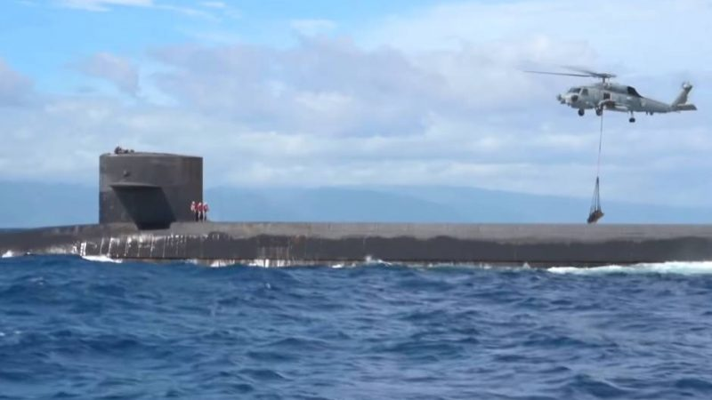 This Is How America's Nuclear Submarine Get Resupplied at Sea