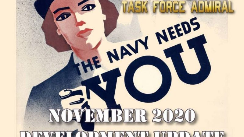 Task Force Admiral update November 2020