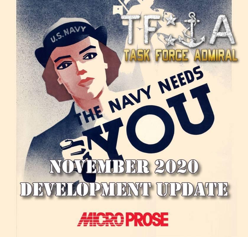 Task Force Admiral update November 2020