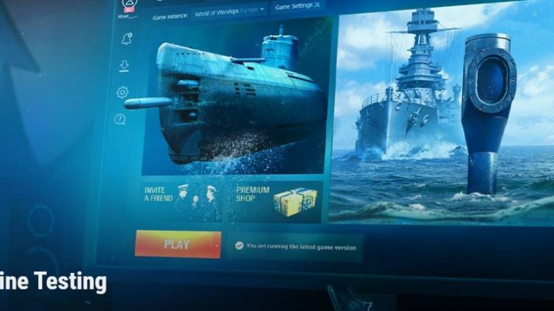 World of Warships: Submarine Testing