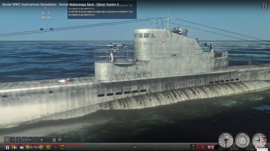 Soviet WW2 Submarines Simulation – Soviet Waterways Mod – Silent Hunter 4