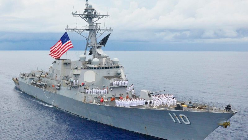 Navy conducts freedom of navigation operations off Venezuelan coast