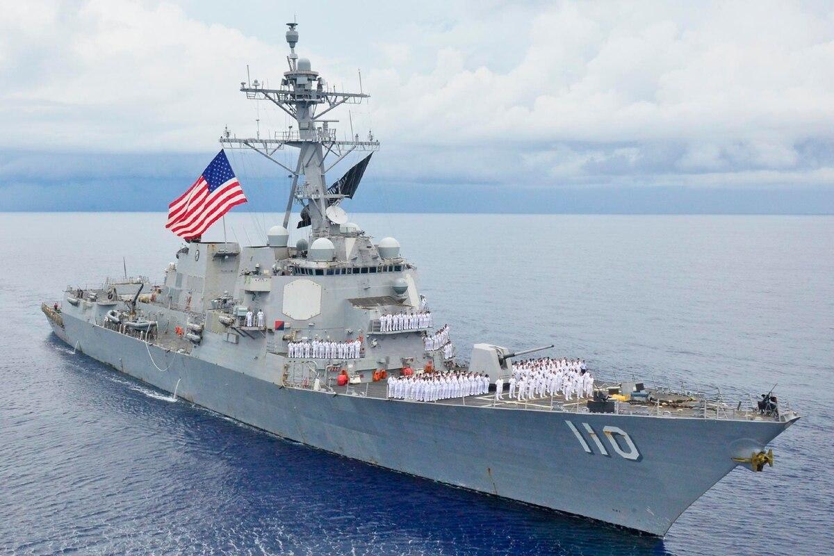 Navy conducts freedom of navigation operations off Venezuelan coast