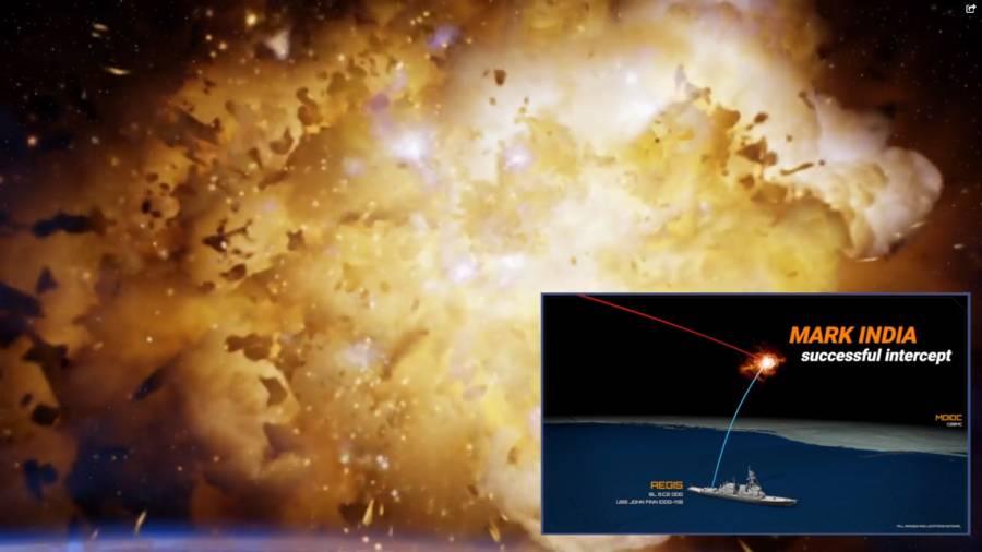 US Navy destroyer shoots down an ICBM in milestone test