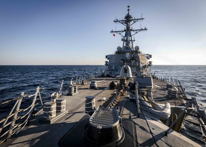 Navy Denies Claim Russians Drove Out U.S. Destroyer From Sea of Japan