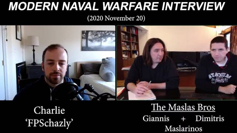 Modern Naval Warfare Interview with the Developers, The Maslas Bros.