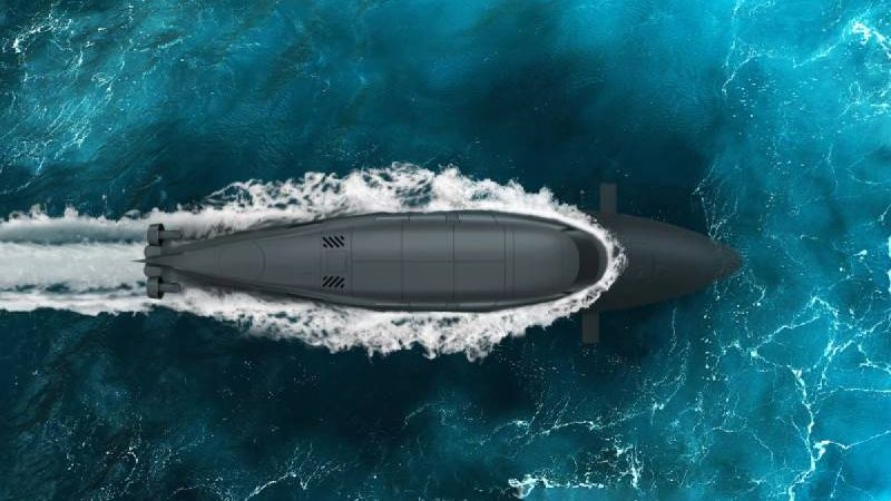 Stealthy diver delivery boat transforms into a submarine
