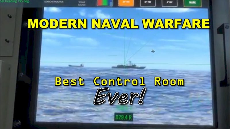 Modern Naval Warfare – First Dangerous Waters replacement in 15 years!