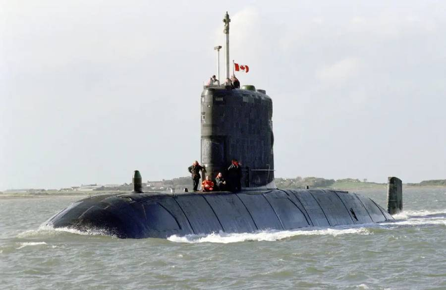 The Saga Of This Long-Busted Submarine Is An Example Of How Sad Canada's Tiny Sub Fleet Is