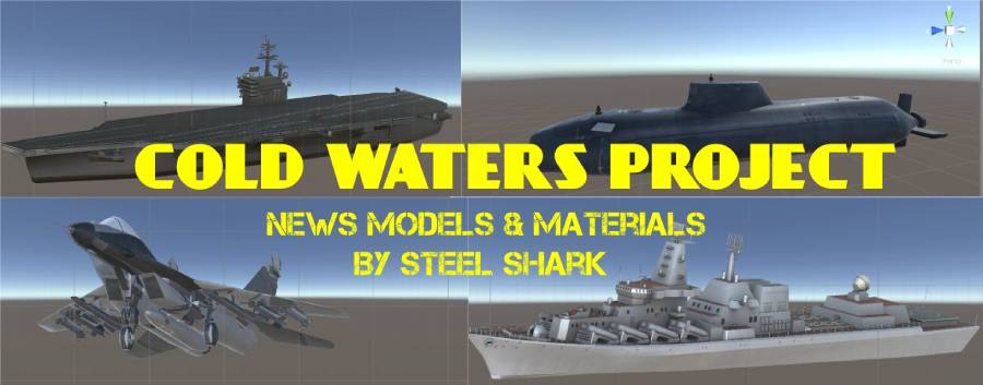 COLD WATERS	 New materials & models