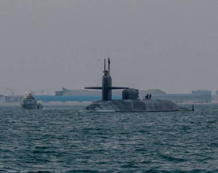 Submarine USS Georgia, in Arabian Gulf, visits Bahrain