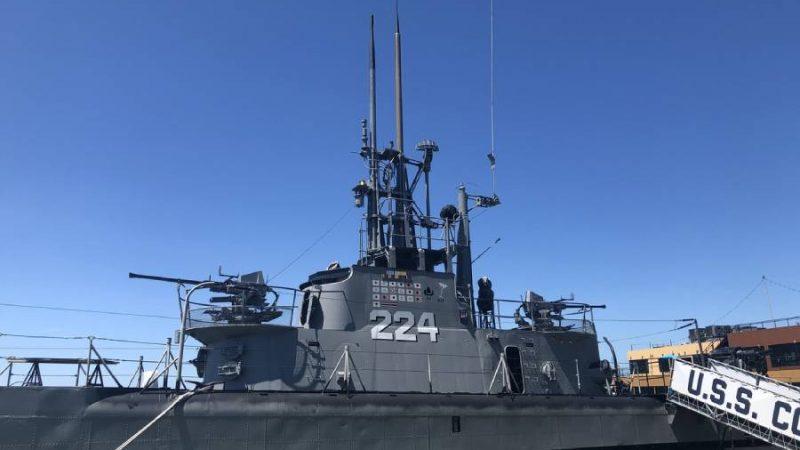 Visit to USS Cod