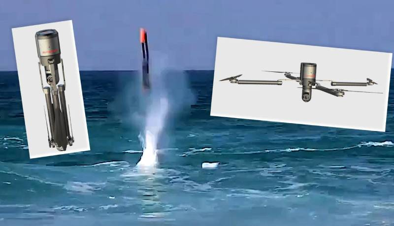 Submarine Launched Drone