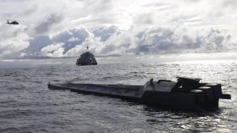 Narco Sub nabbed in the Pacific