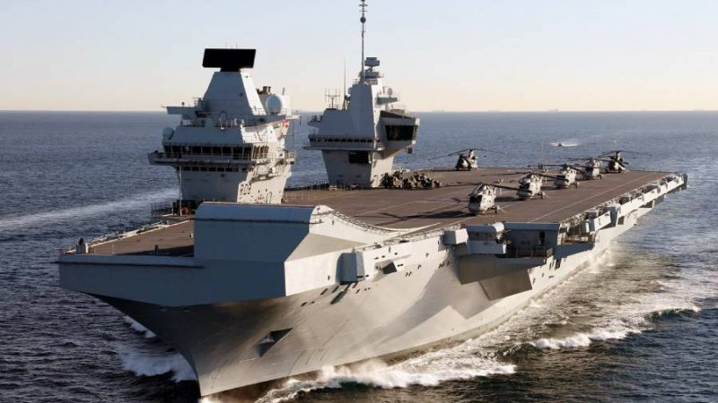 Is HMS Queen Elisabeth operation-ready?