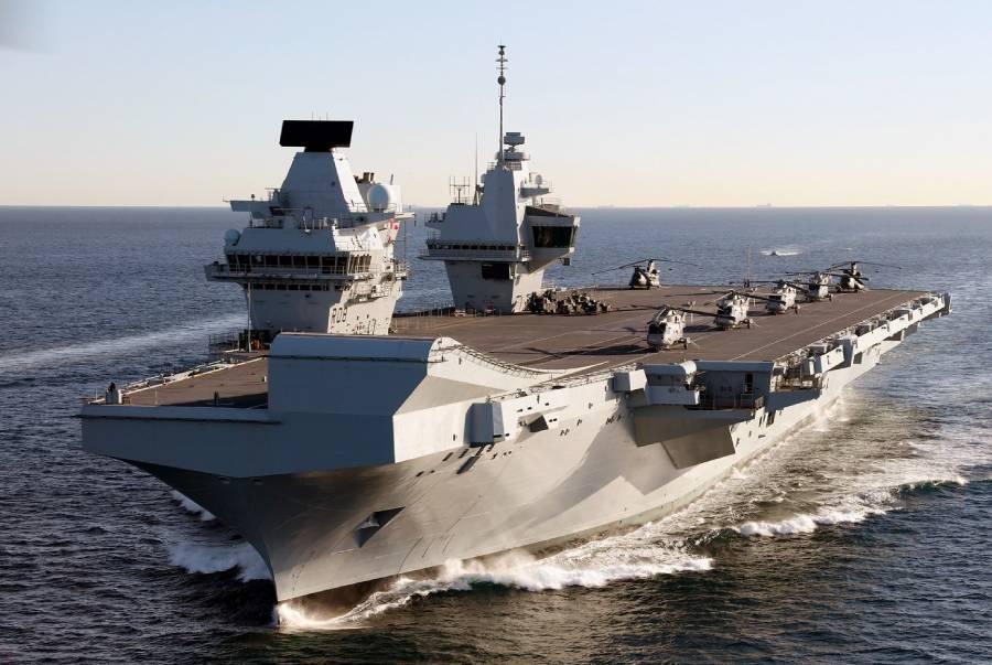 Is HMS Queen Elisabeth operation-ready?