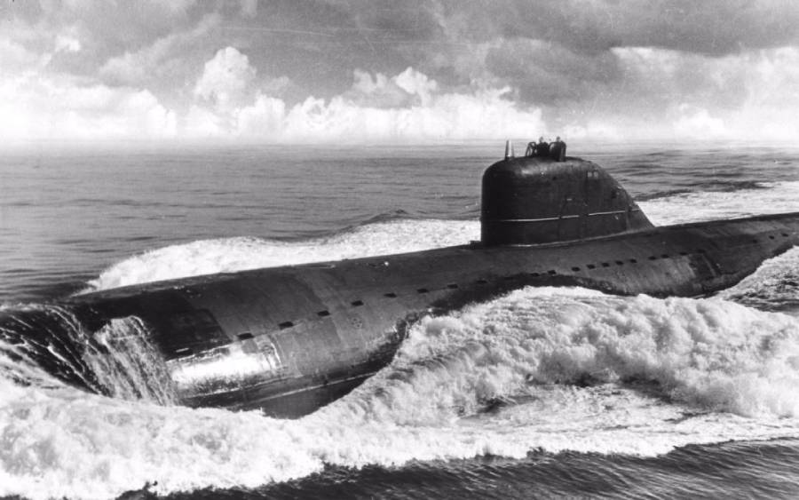 The First Soviet Nuclear Submarines