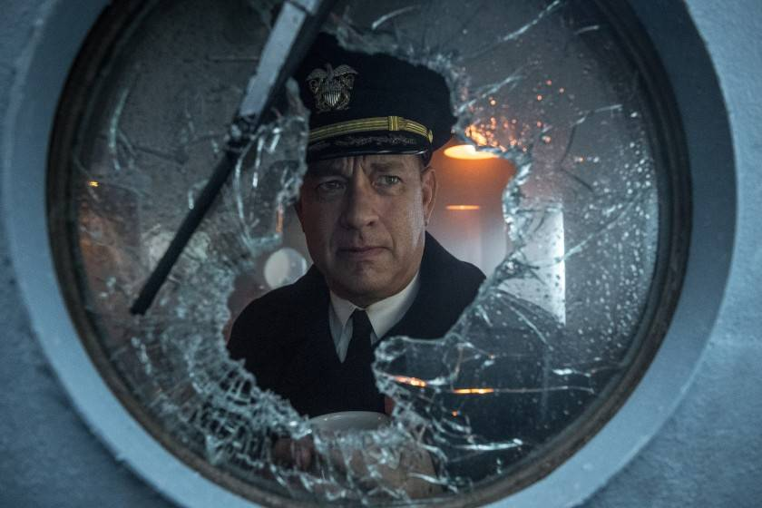 After penning the script, Tom Hanks goes to war on the set of 'Greyhound'