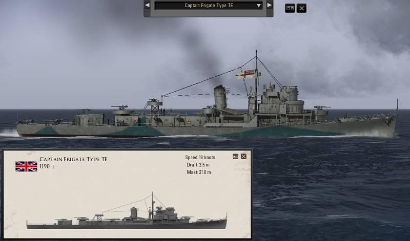 Silent Hunter 5: Captain Class Frigates