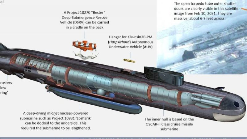 New Details of Russian Belgorod 'Doomsday' Submarine Revealed