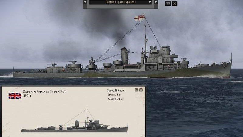 SH5 Mod: Captain Class Frigates