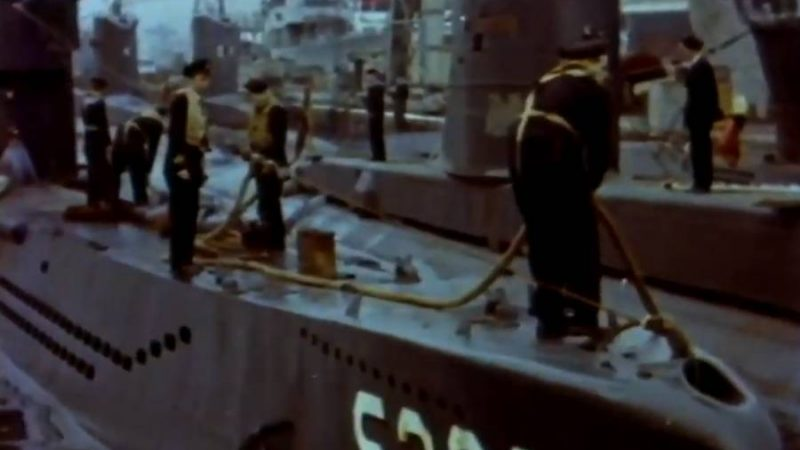 New/Old footage on YouTube – U-995 when she was in service in the Norwegian Navy.