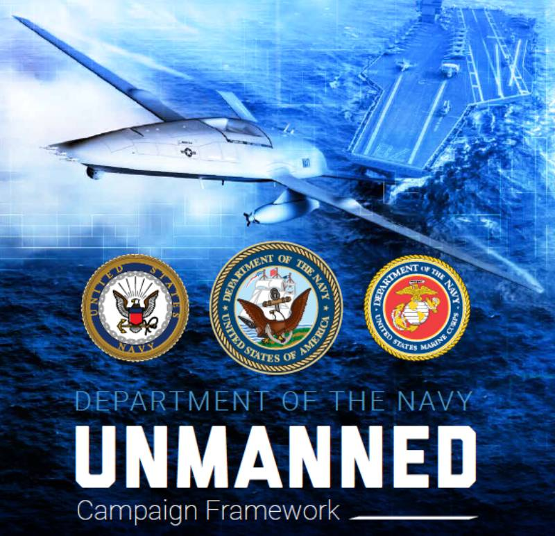 Department of the Navy Unmanned Campaign Framework