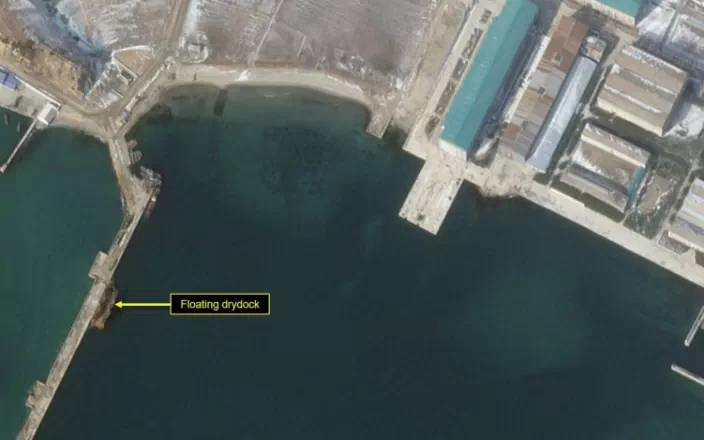 New satellite images show North Korea may be preparing to launch ballistic missile submarine