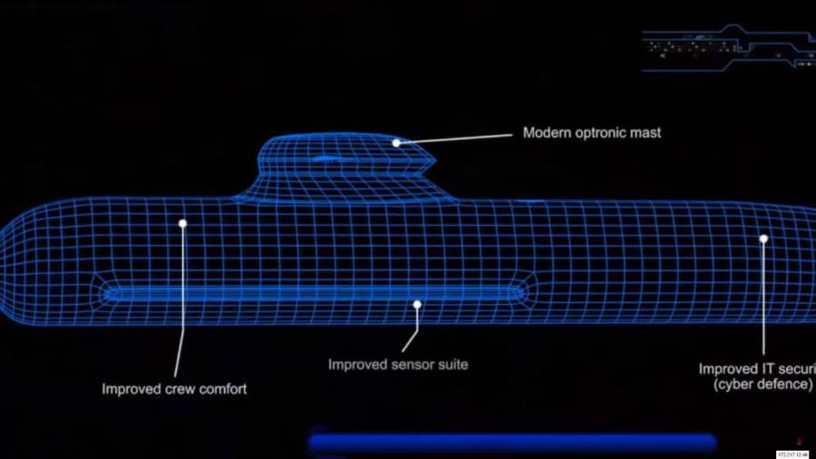 Building Begins on Britain's Biggest Ever Submarine.