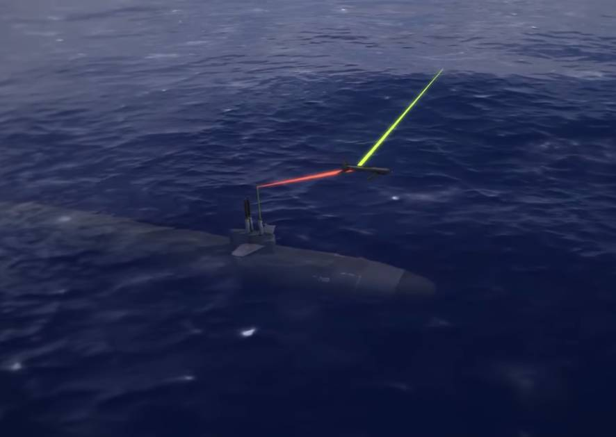 Blackwing UAS Connects Submarines, Unmanned Underwater Vehicles