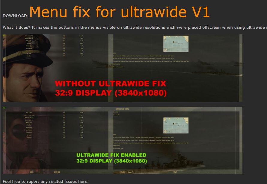 SH4 Mod: Menu fix for ultrawide V1
