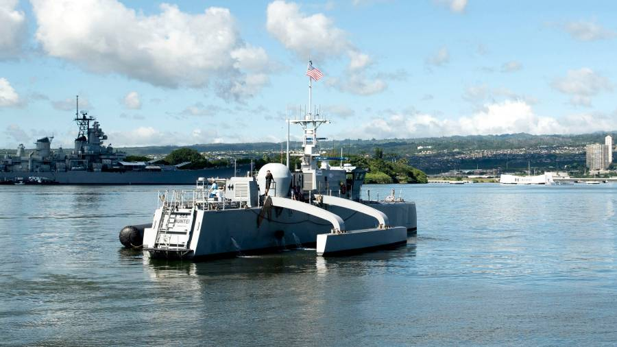 Navy Developing Land-Based Unmanned Vehicle Testing Sites as Early Design Work Continues