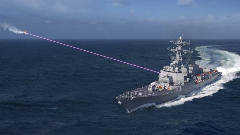 Navy Installing More Directed Energy Weapons on DDGs, Conducting Land-Based Laser Testing This Year
