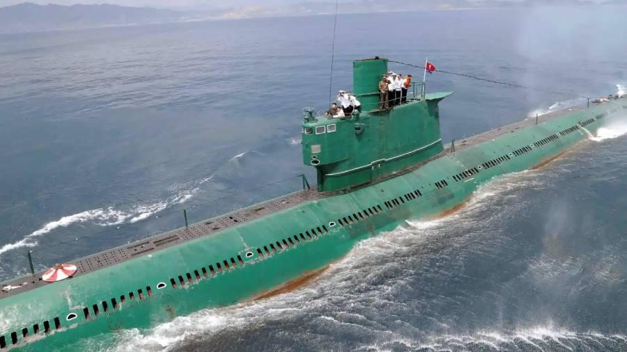 North Korea completes building new 3,000-ton submarine
