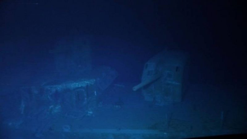 USS Johnston: Sub dives to deepest-known shipwreck