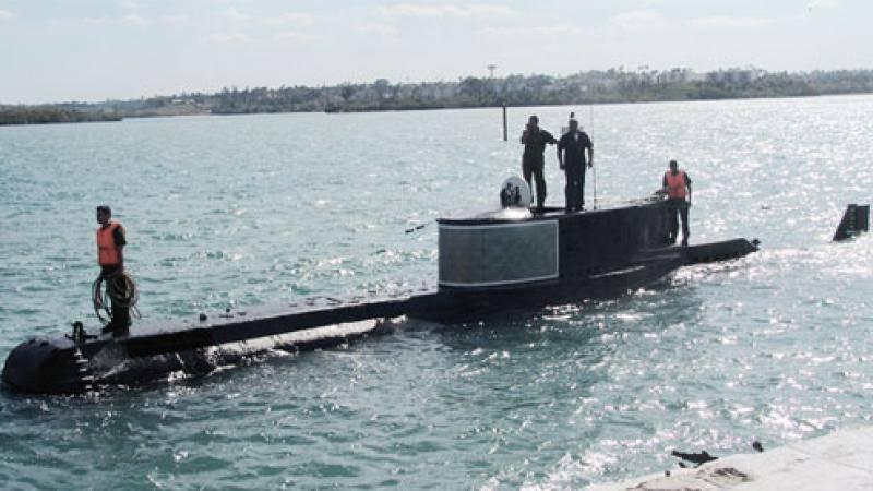 New Photos Reveal Details of Cuba's Tiny Attack Submarine